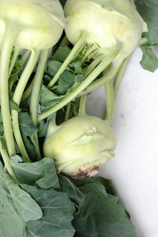 Super Healthy Summer Vegetable Kohlrabi