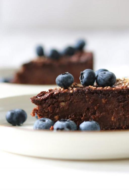 Super Moist & Healthy Sweet Potato Brownies (V, GF)