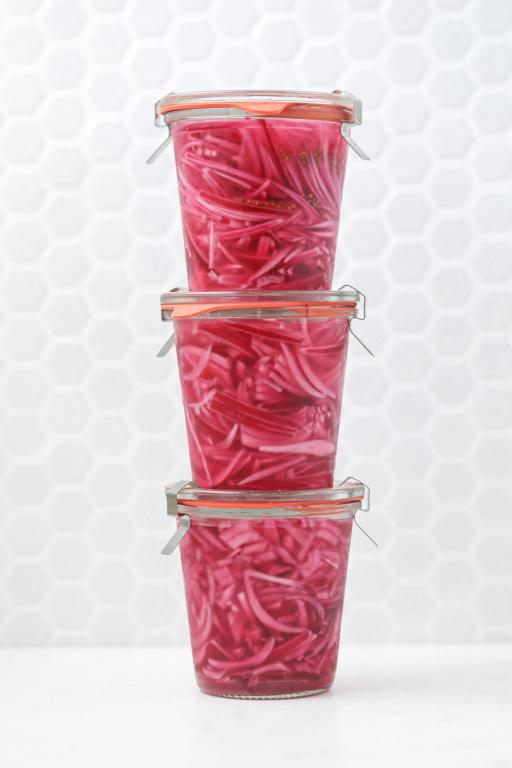 Easy Peasy Pickled Onions