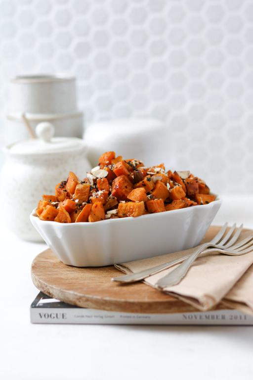 Easy Oven-Roasted Sweet Potato (Base Recipe)