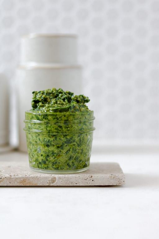 Homemade Vegan Wild Garlic Pesto