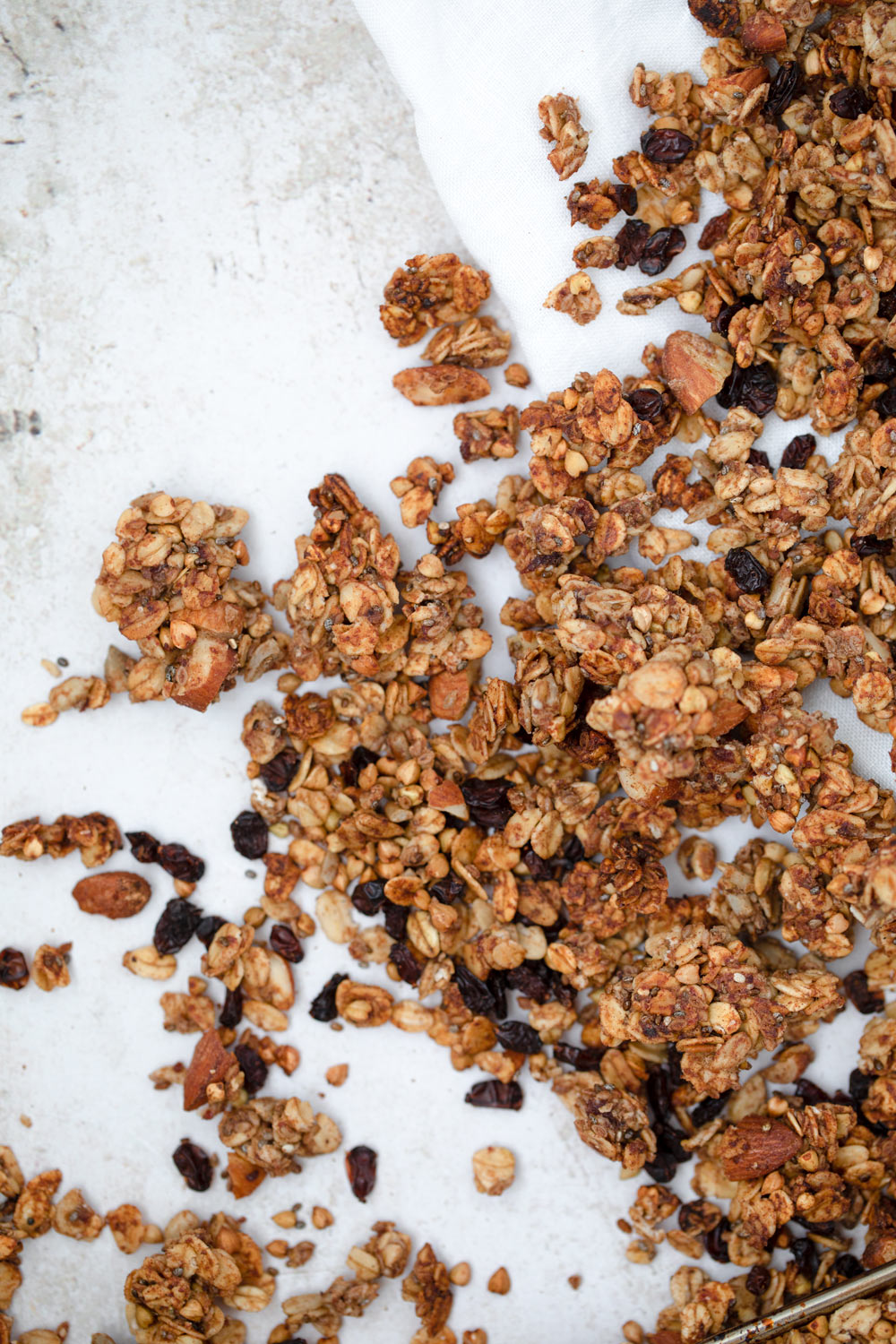 Super delicious and naturally sweet Granola