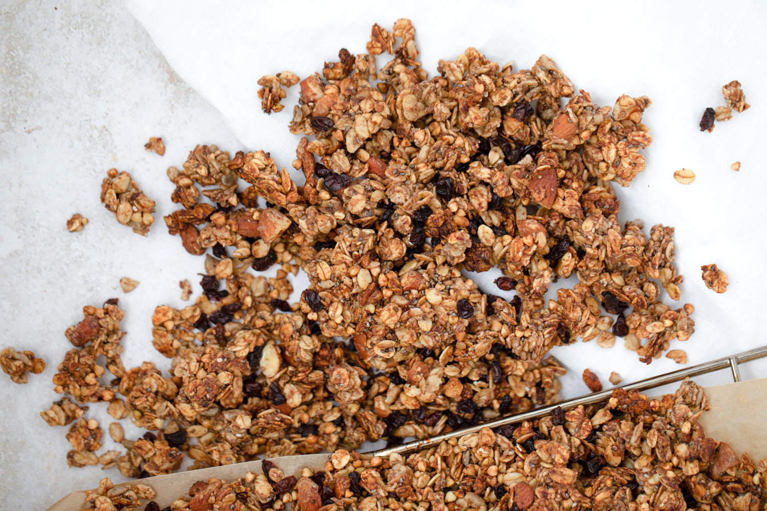 Naturally Sweet Granola created by Karolin Baitinger