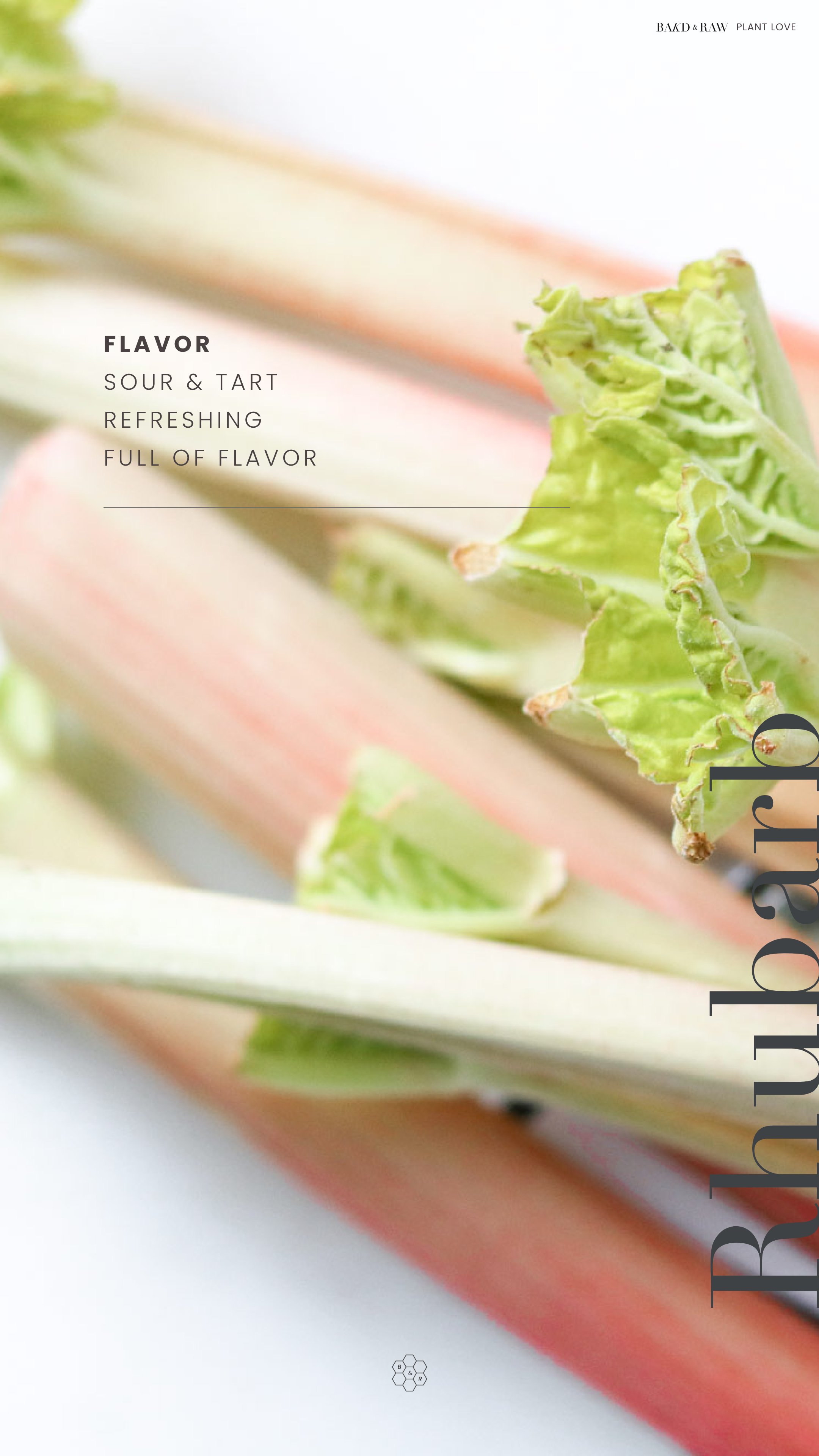 Rhubarb Flavor overview by Bakd&Raw