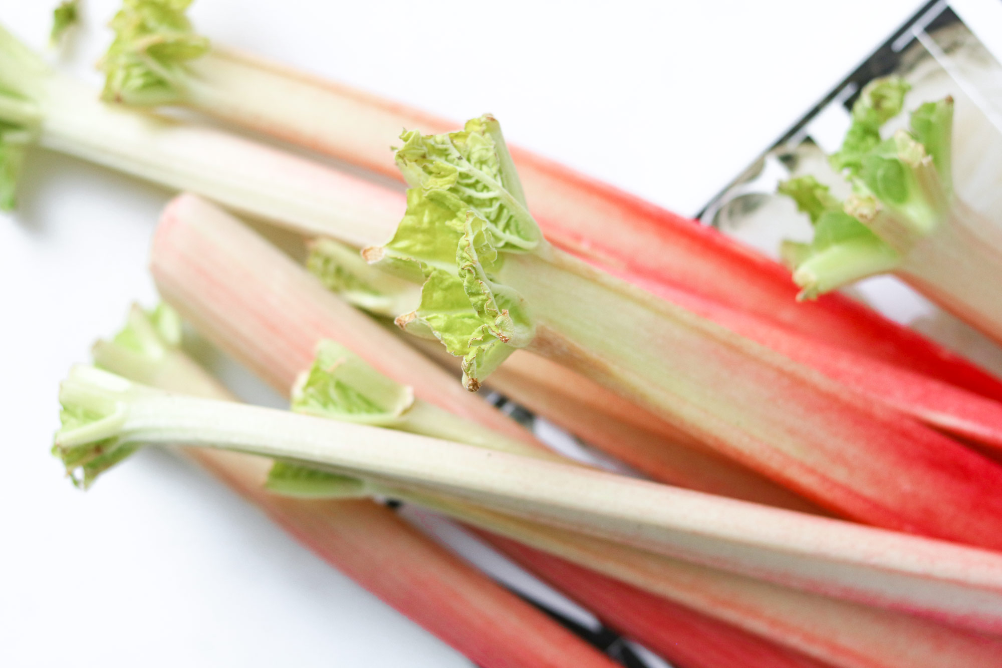 Rhubarb Recipes by Bakd&Raw