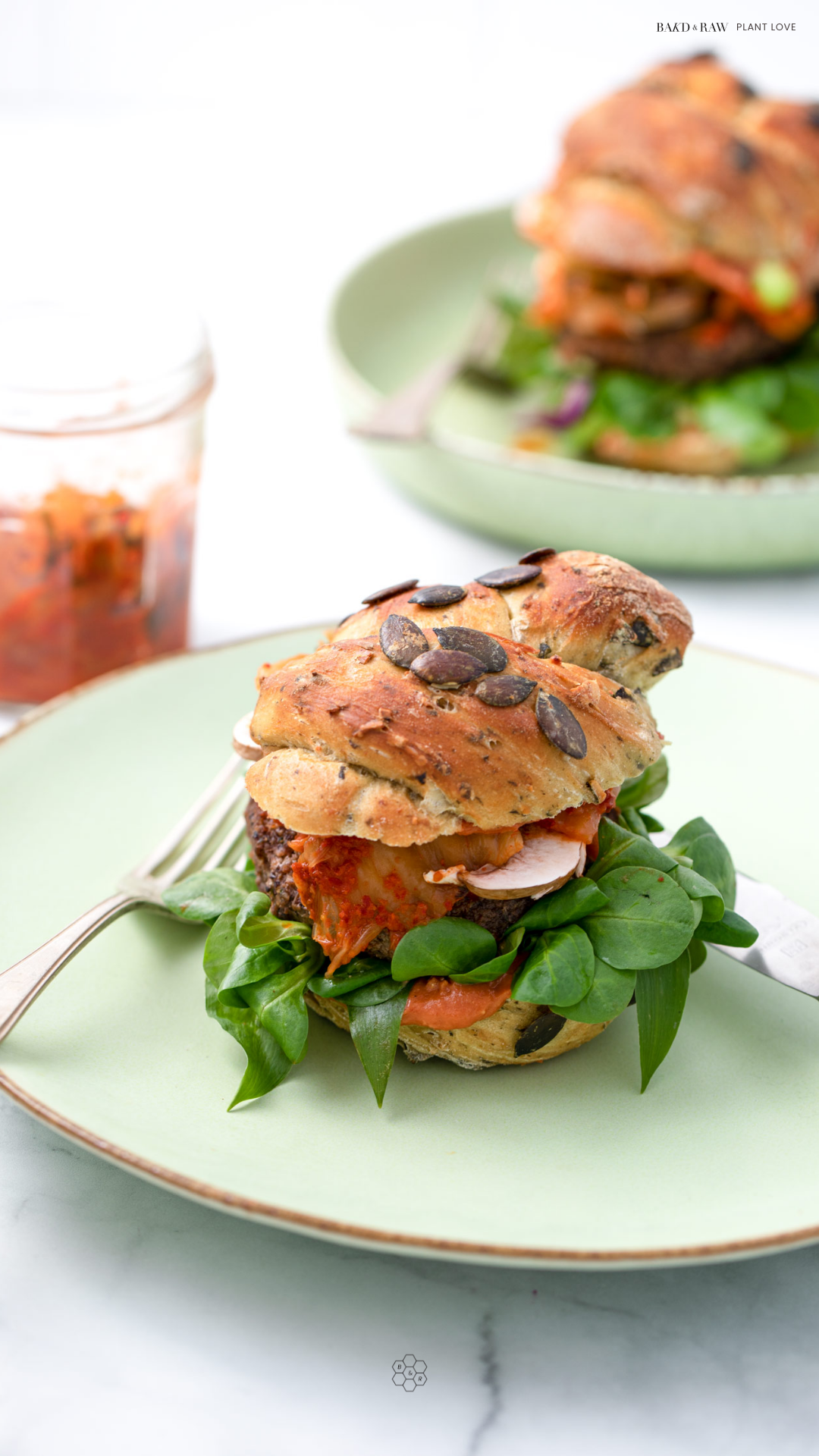 Black Bean Burger is the perfect plant-based alternative