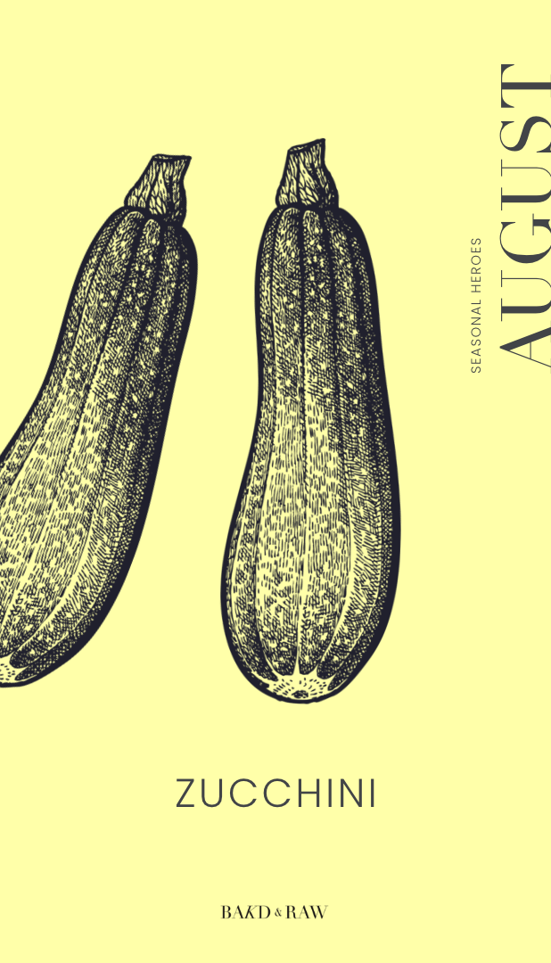 zucchini, one of top 10 seasonal vegetables and fruits