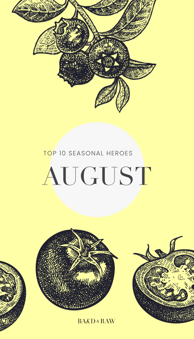 overview top 10 seasonal vegetables and fruits