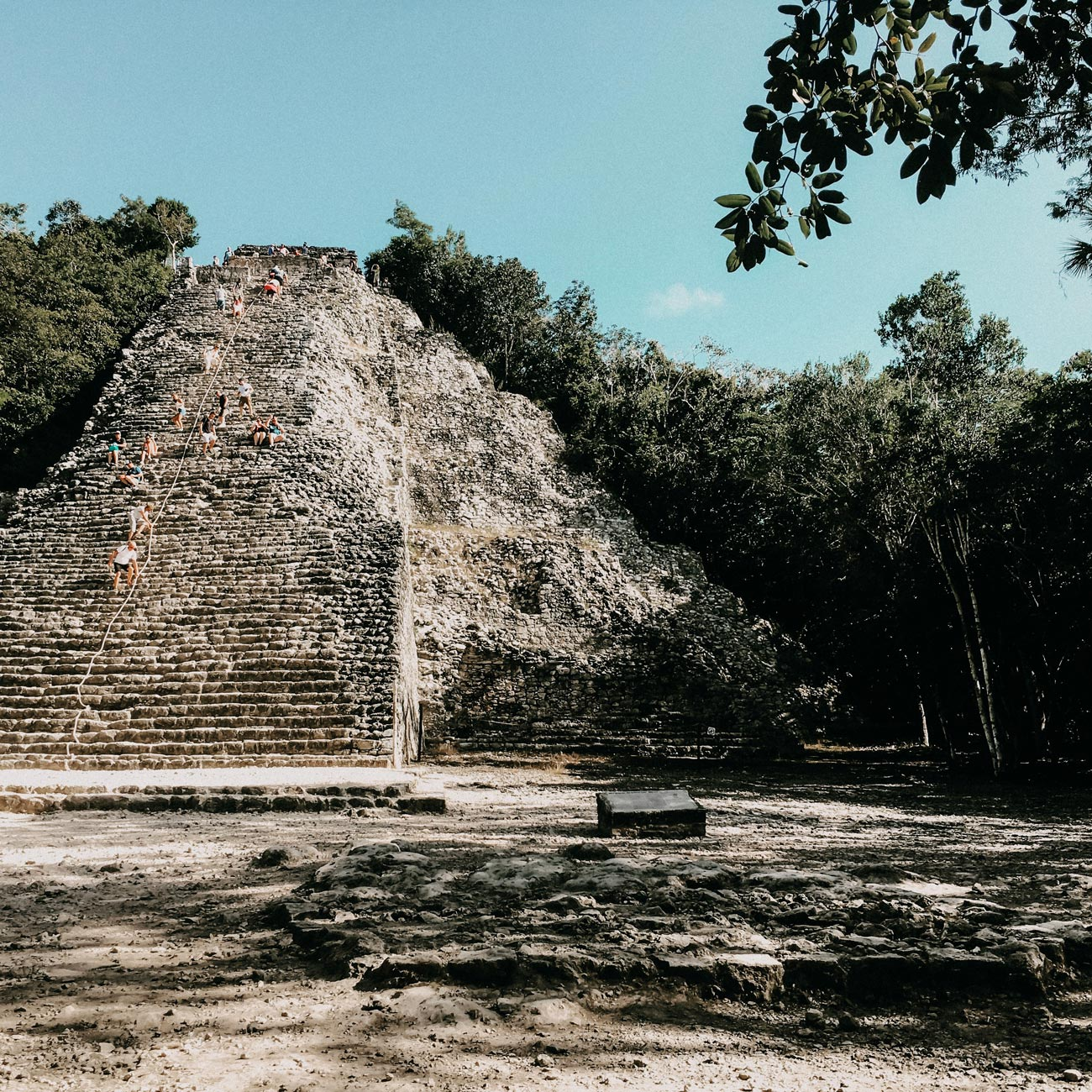 Pyramids of Tulum Mexico