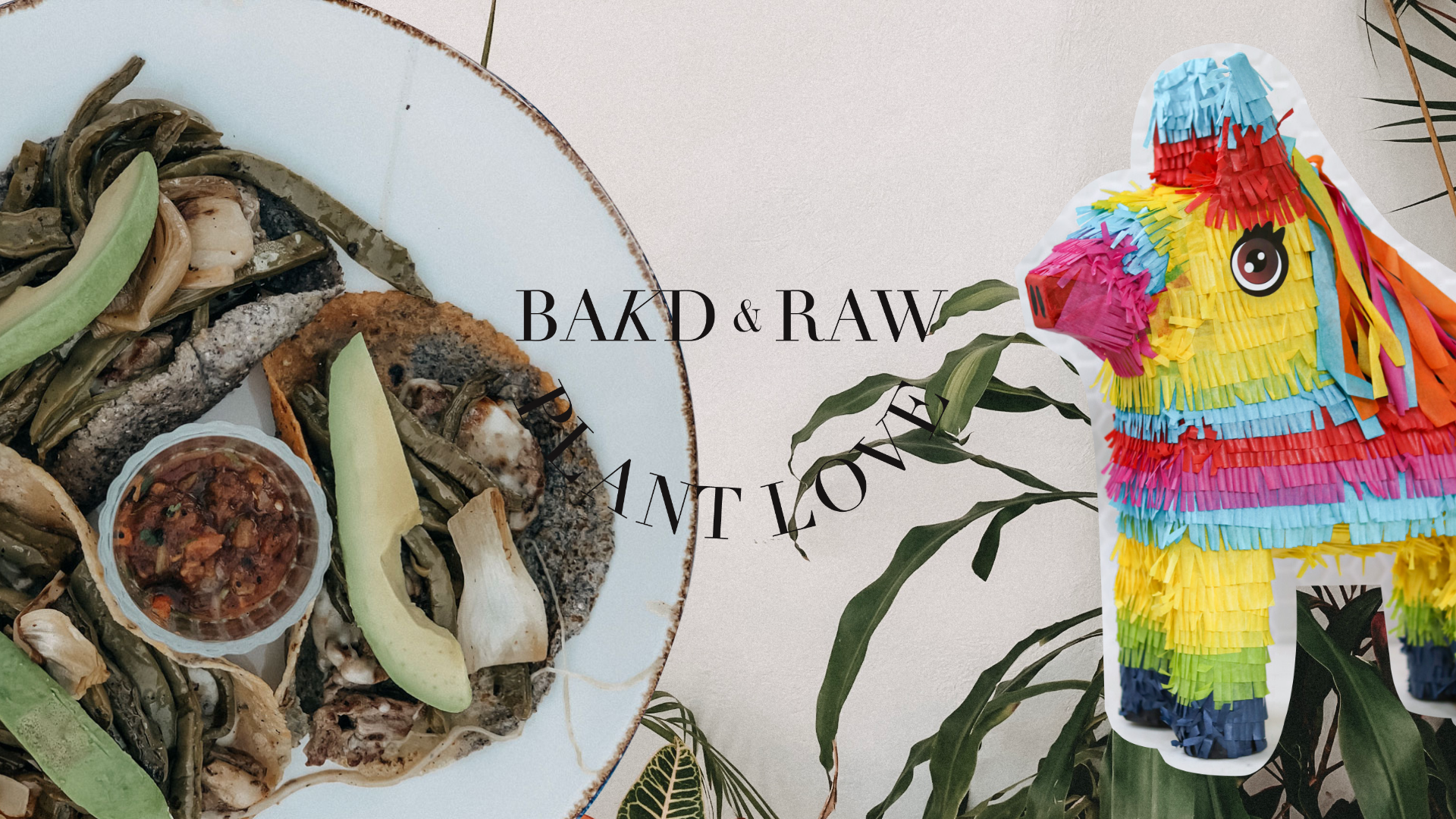 Karolin Baitinger; Birthday Bakd&Raw Plant Love