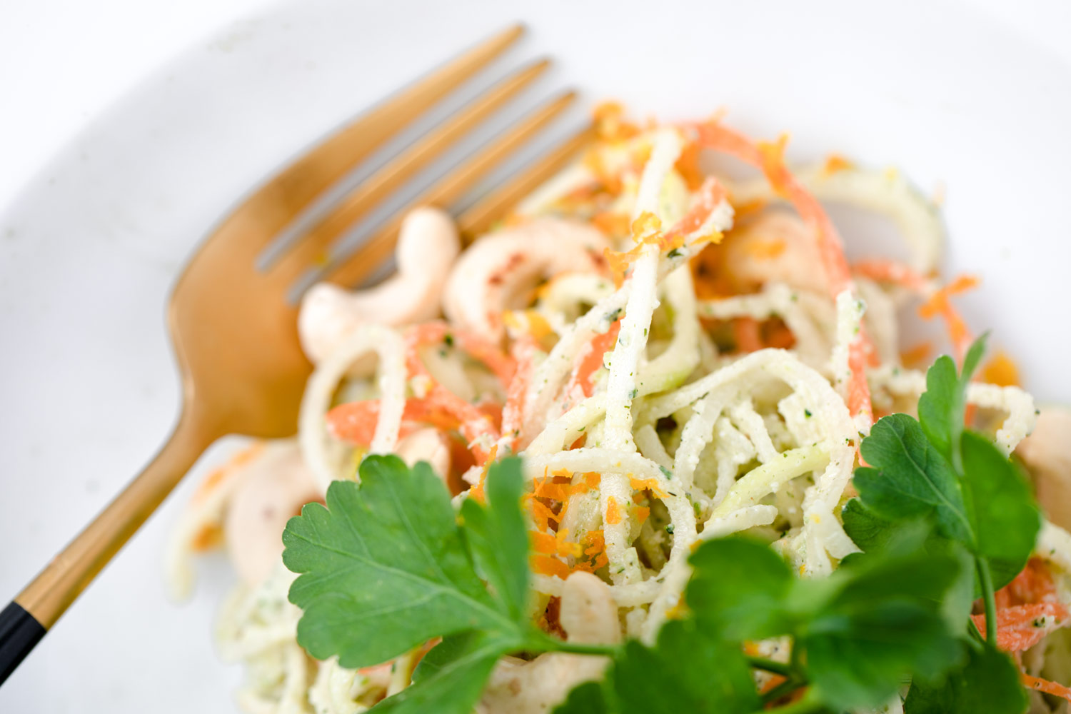 Bakd&Raw raw pasta (zoodles)