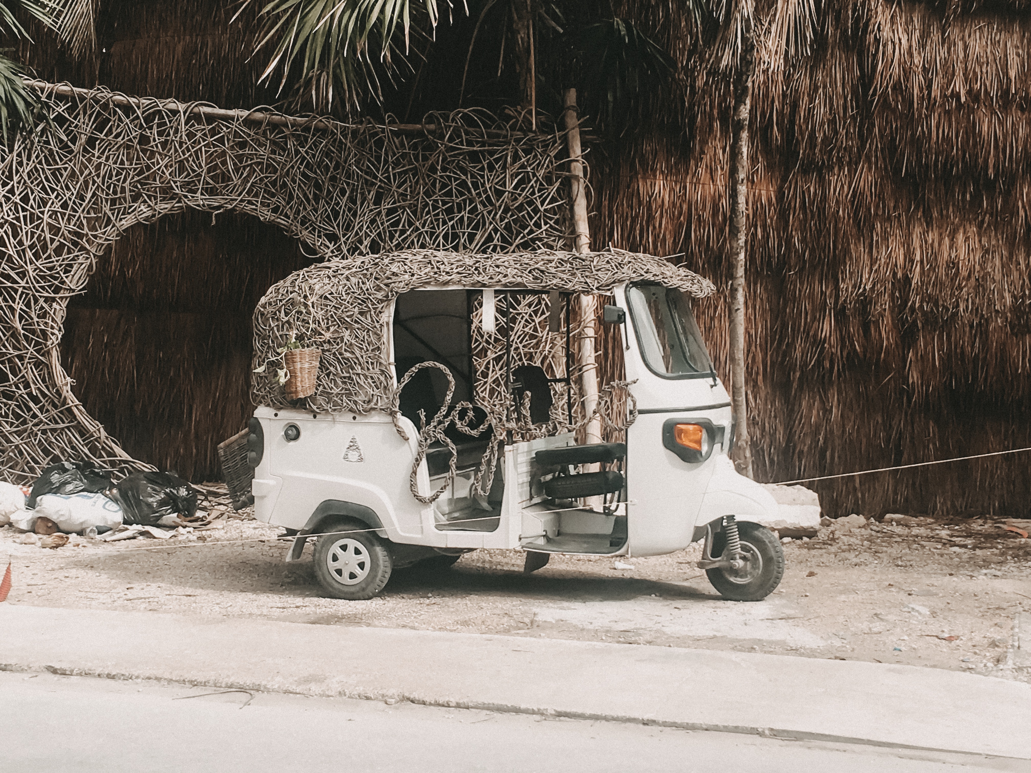 Mini Car in tulum Mexico