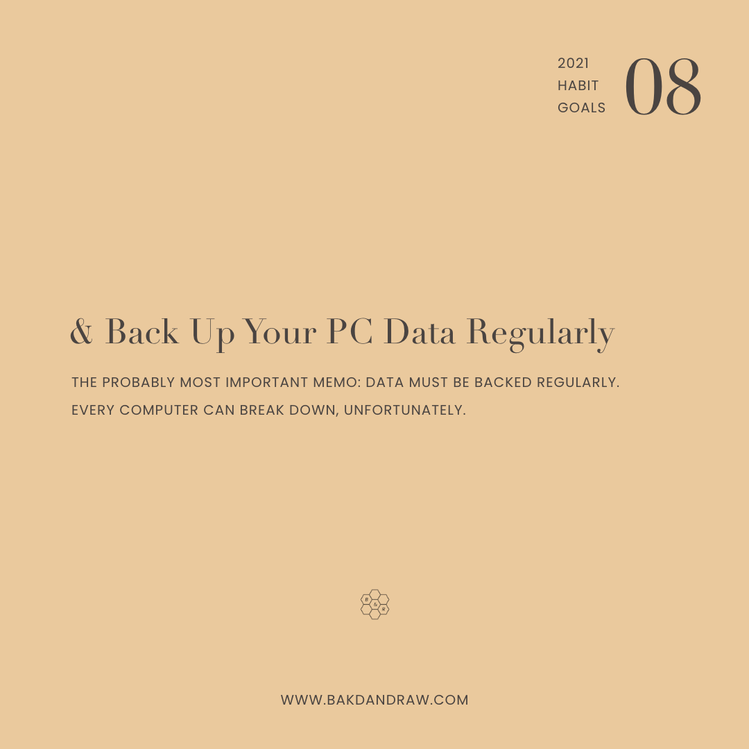 habit goal 8 back up your computer data regularly