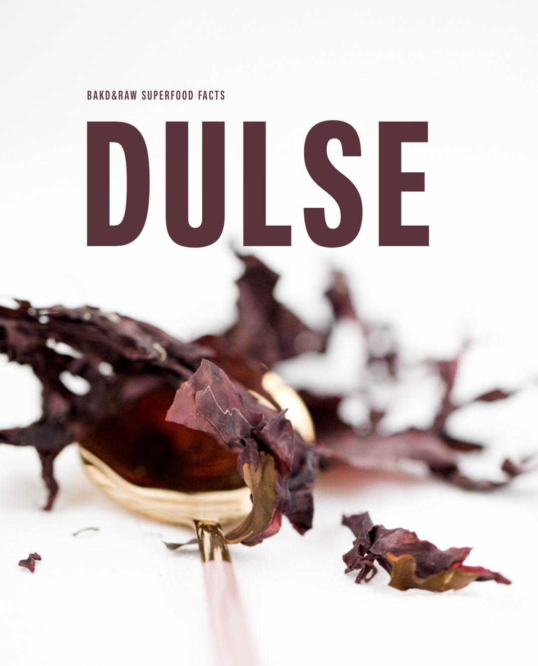 Why We Should All Know The Superfood Dulse