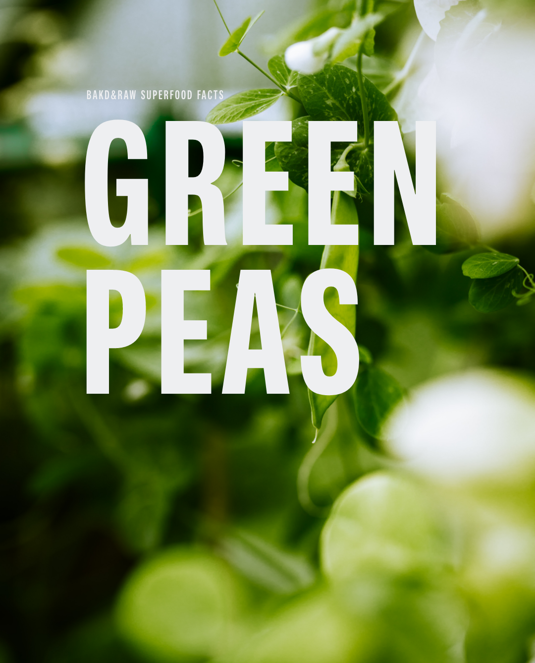 Easy To Prep, Loaded With Nutrients & Full Of Flavor: Green Peas