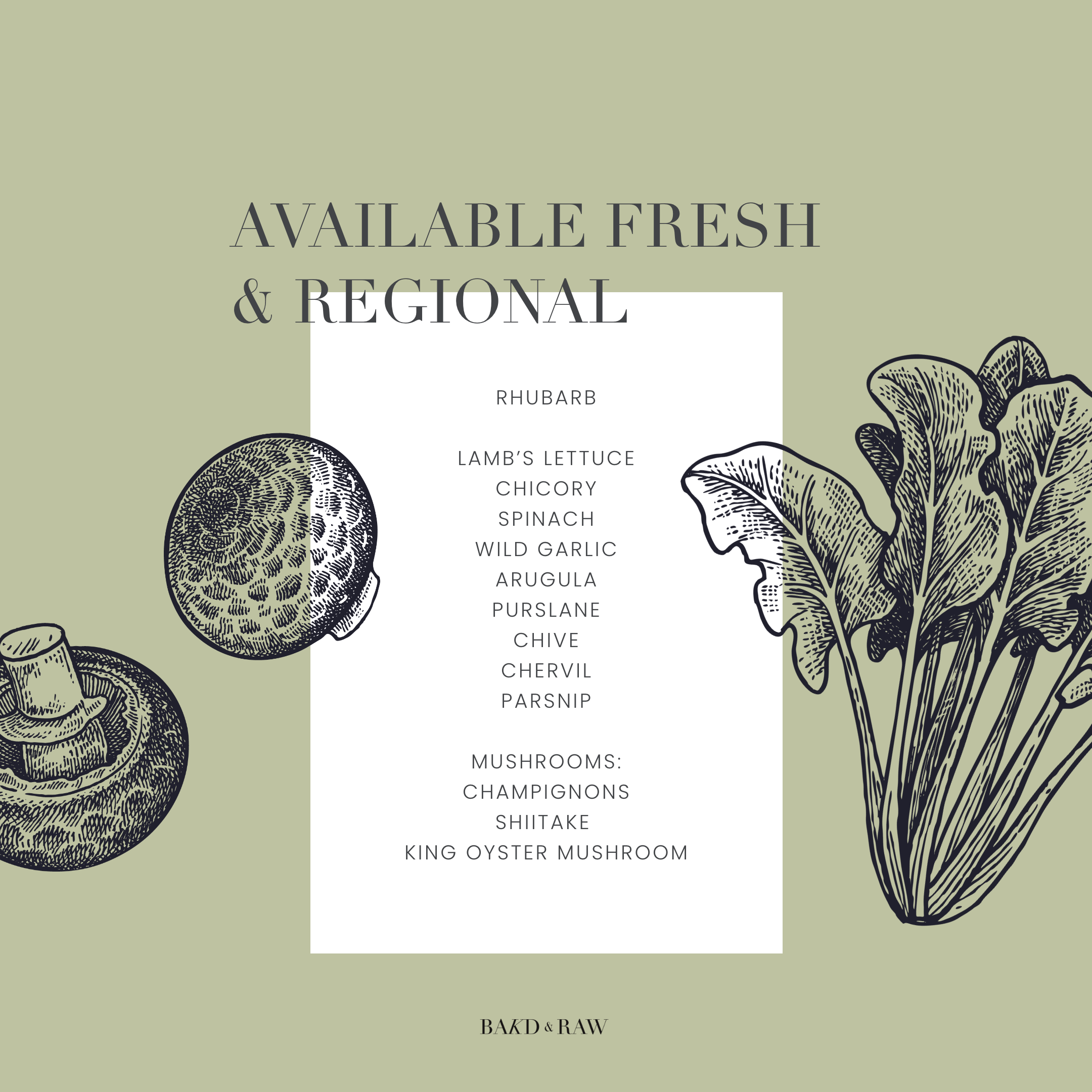Seasonal Produce March Overview Freshly Available in Germany by Karolin Baitinger - Bakd&Raw