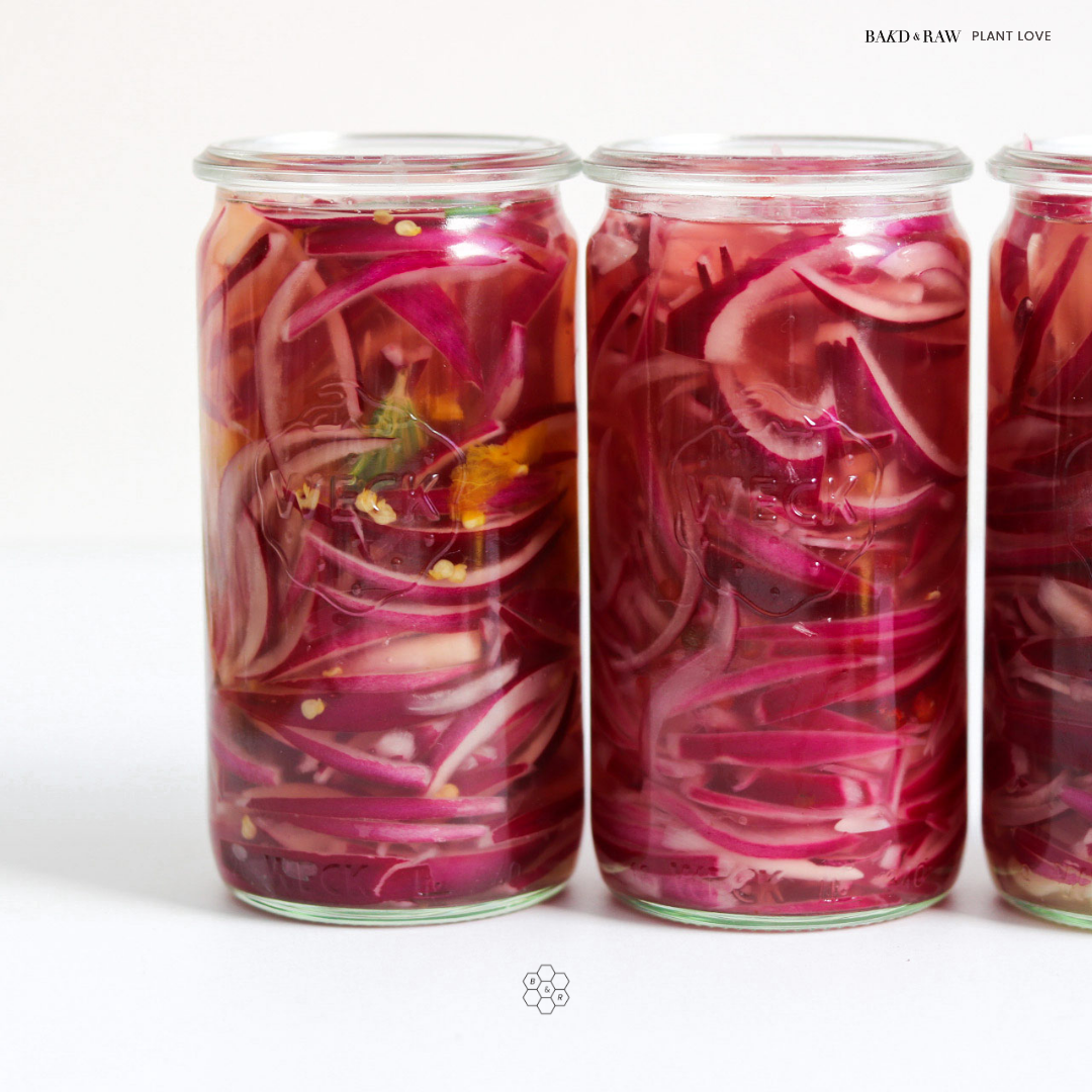 Bakd&Raw Pickled Red Onions by Karolin Baitinger