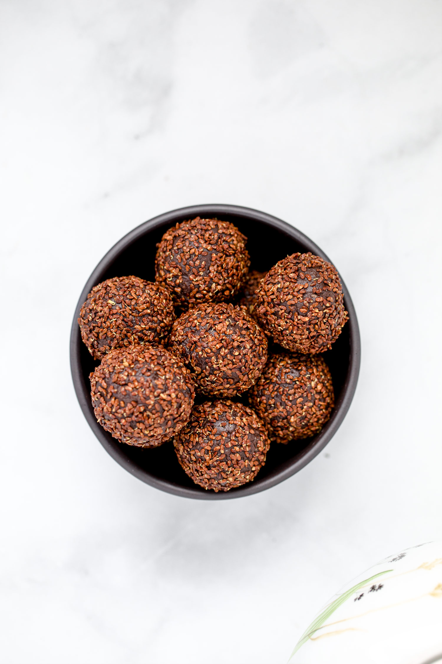 The Most Delicious 4 Ingredient Energy Balls With A Sprouted Crunch Coating