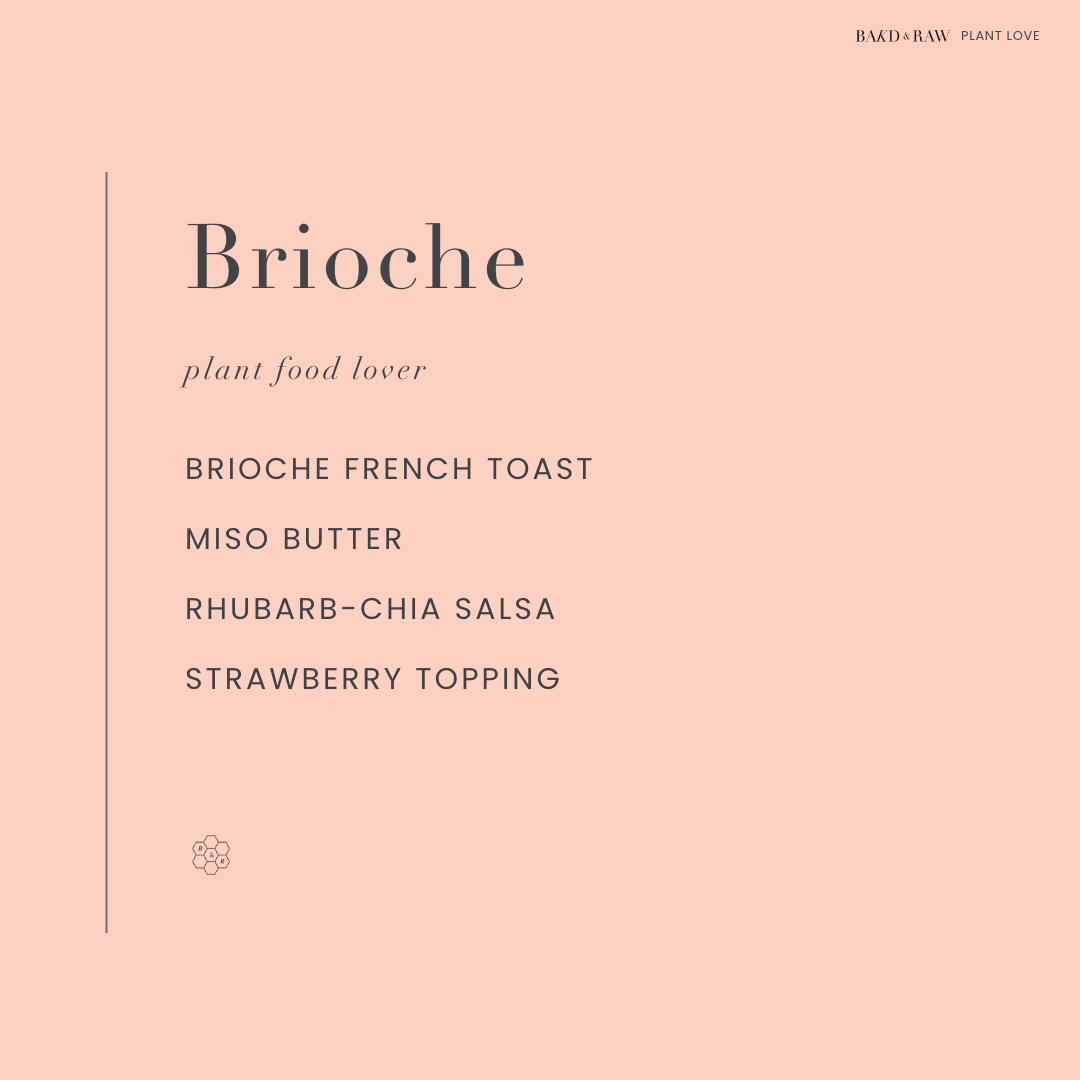 Brioche French Toast with Miso Butter by Bakd&Raw, Karolin Baitinger