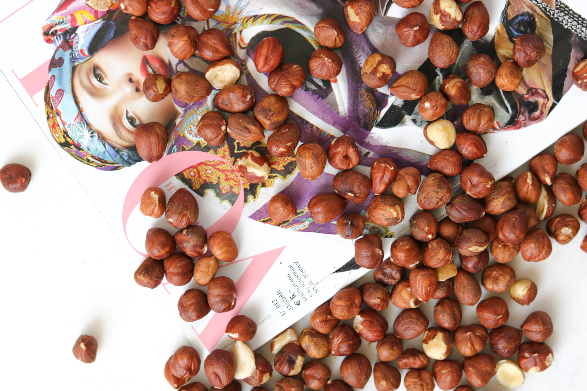 Hazelnuts; Protein Guide by Bakd&Raw