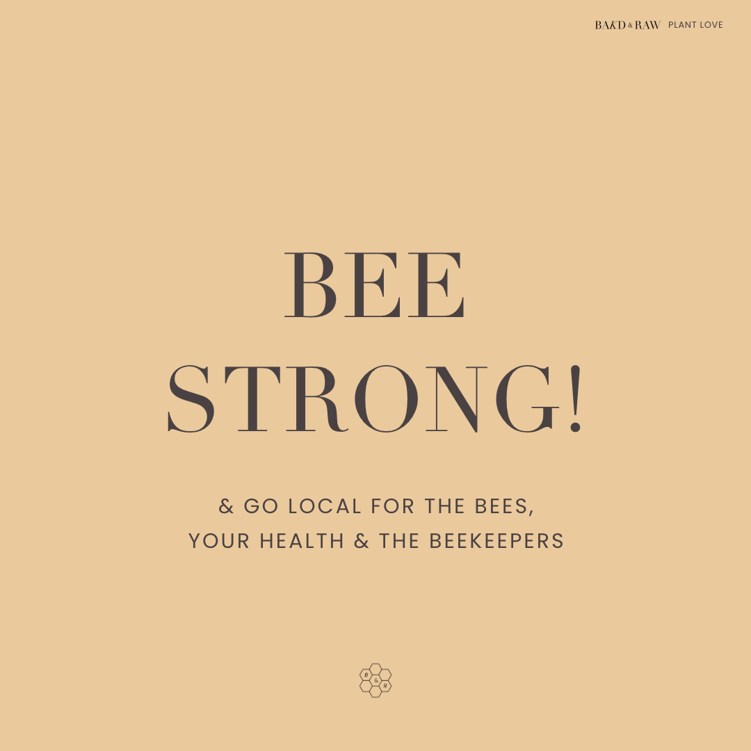 Bee Strong quote by bakd&raw
